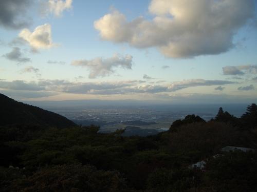 朝熊山(あさまやま)からの眺望